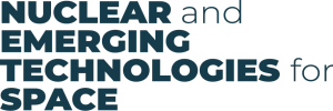 Nuclear and Emerging Technologies for Space - NETS 2020